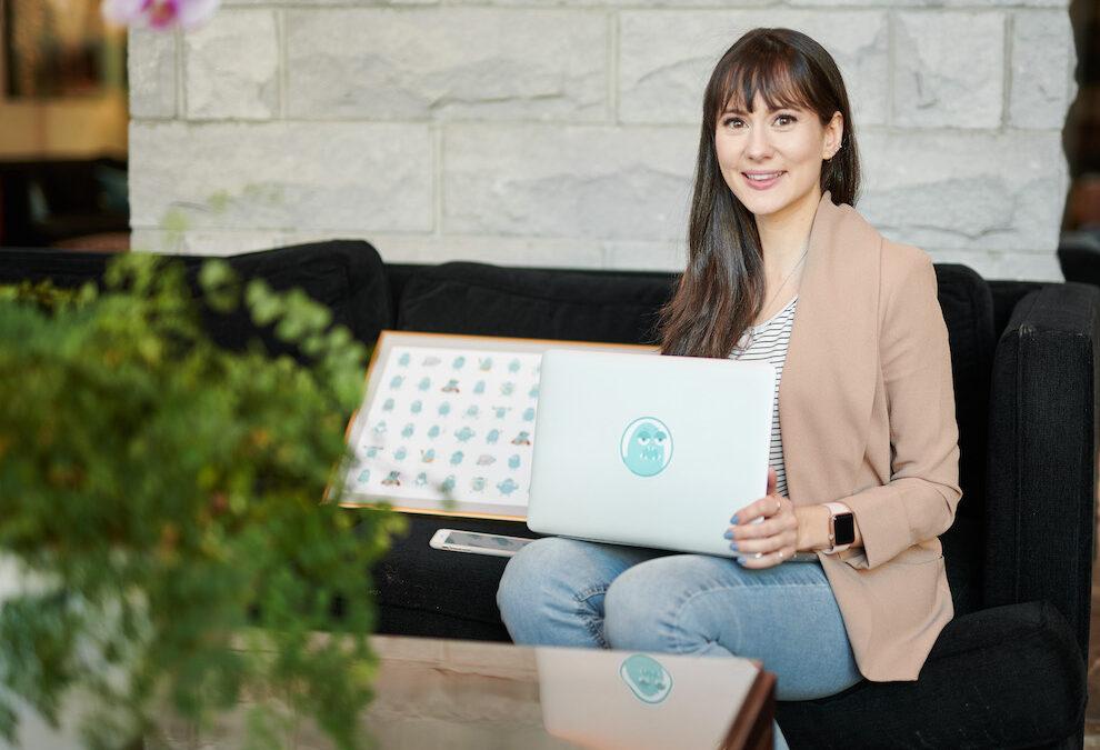 Rootd app founder Ania Wysocka